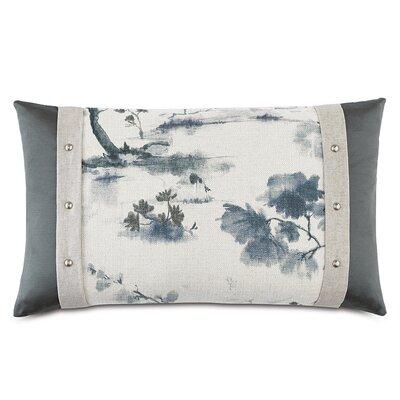 Modern Asian Serene Lumbar Pillow