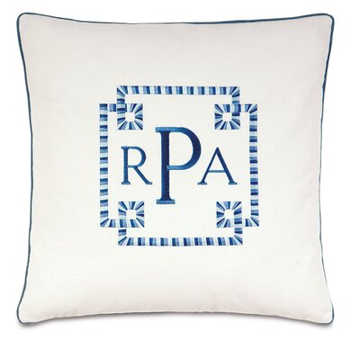 Olympia Baldwin Monogram Down Throw Pillow