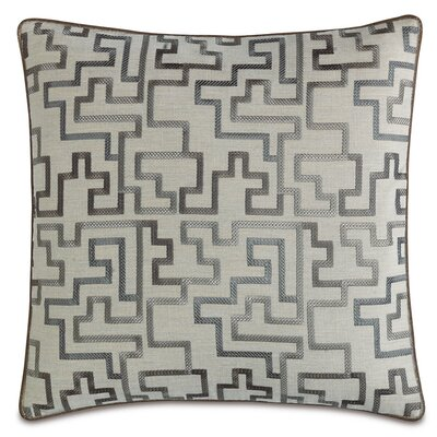 Ezra Prosecco Stone Welt Throw Pillow