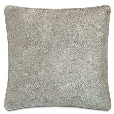 Ezra Smoke Welt Down Throw Pillow