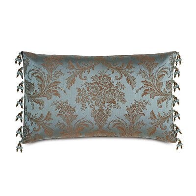 Monet Foscari Beaded Trim Lumbar Pillow