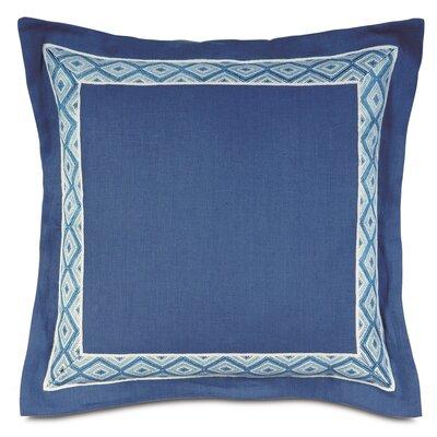 Olympia Breeze Border Throw Pillow