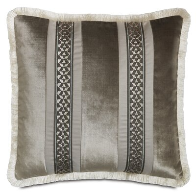 Ezra Velda Smoke Throw Pillow