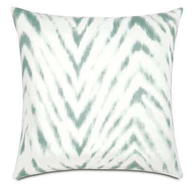 Lucky Stripes Millie Linen Throw Pillow Color: Summer