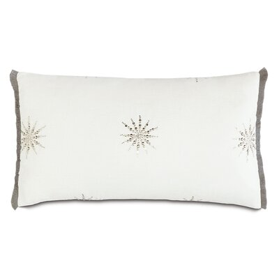 Ezra Esmi Brush Fringe Lumbar Pillow