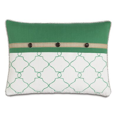 Lanai Mila Moss/Carousel Kelly Cord Down Throw Pillow