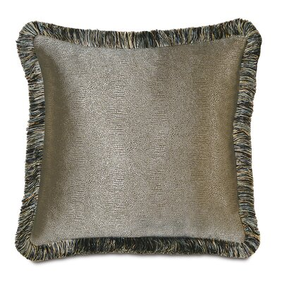 Monet Dunaway Brush Fringe Throw Pillow