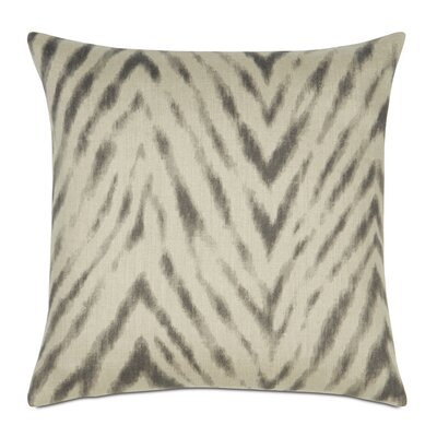 Lucky Stripes Millie Linen Throw Pillow Color: Winter