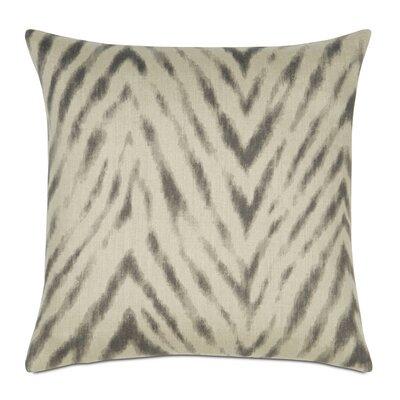 Lucky Stripes Millie Linen Throw Pillow Color: Winter