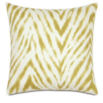 Lucky Stripes Millie Linen Throw Pillow Color: Spring