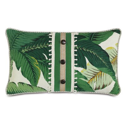 Lanai Palm Carousel Kelly Lumbar Pillow