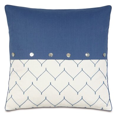 Olympia Breeze Buttons Throw Pillow