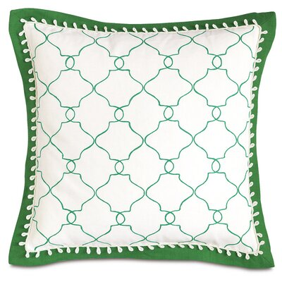 Lanai Mila Moss Mitered Flange Throw Pillow