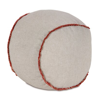 Epic Harbor Greer Linen Baseball Down Throw Pillow