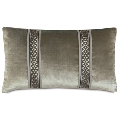 Ezra Velda Smoke Lumbar Pillow