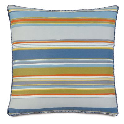 Epic Shore Brush Fringe Throw Pillow