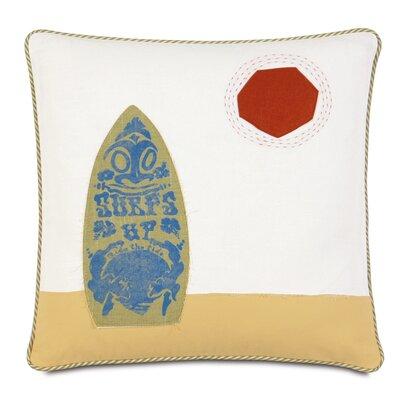 Epic Shore Surfs Up Down Throw Pillow