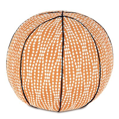 Epic Shore Holmes Mandarin Basketball Throw Pillow