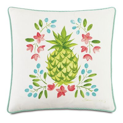 Tropical Gourmet Welcome Throw Pillow