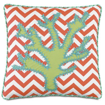 Tropical Under the Sea Throw Pillow
