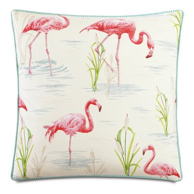 Tropical Twiggy Throw Pillow
