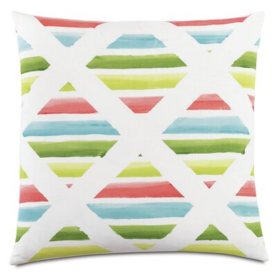 Tropical Surf and Sand Throw Pillow