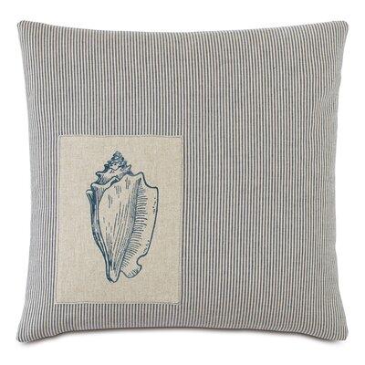 Nautical Seashell Throw Pillow