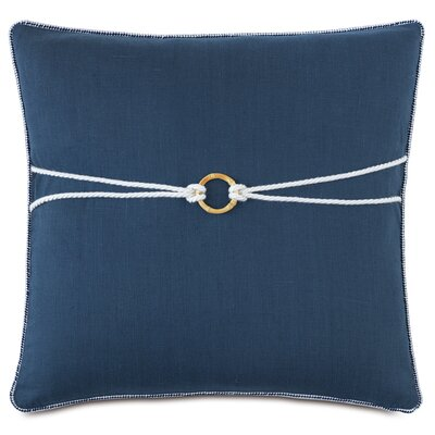 Nautical Bamboo Knot Throw Pillow