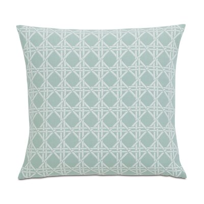 Lavinia Larkin Cotton Throw Pillow Color: Sea