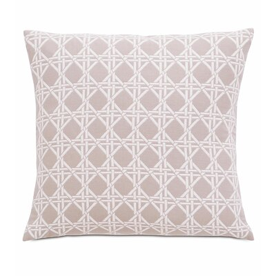Lavinia Larkin Cotton Throw Pillow Color: Salt