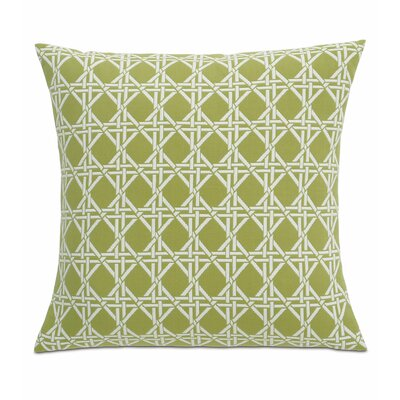 Lavinia Larkin Fabric Throw Pillow Color: Palm