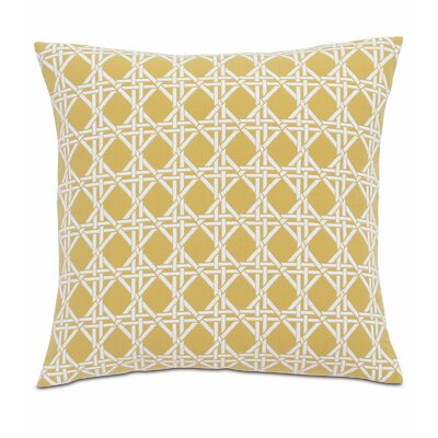 Lavinia Larkin Cotton Throw Pillow Color: Sun