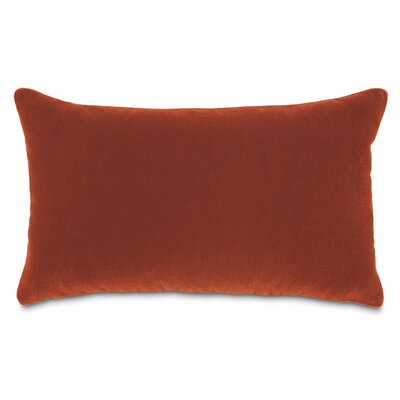 Bach Wool Lumbar Pillow Color: Claypot