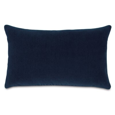 Bach Wool Lumbar Pillow Color: Emerald