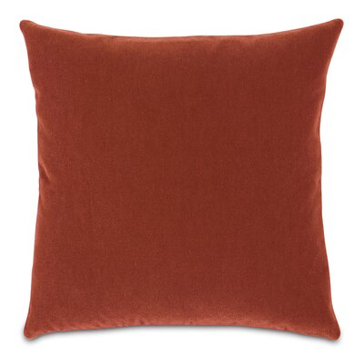 Bach Wool Throw Pillow Color: Claypot