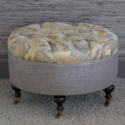 Amal Round Ottoman