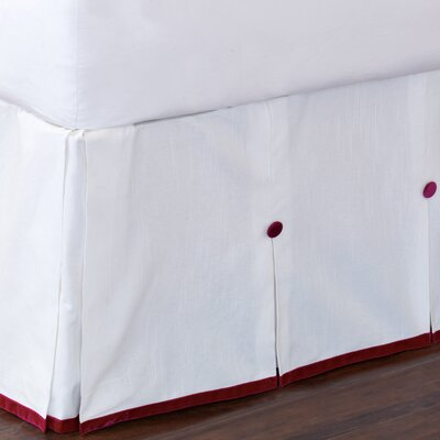 Tresco Baldwin Bed Skirt Size: Twin