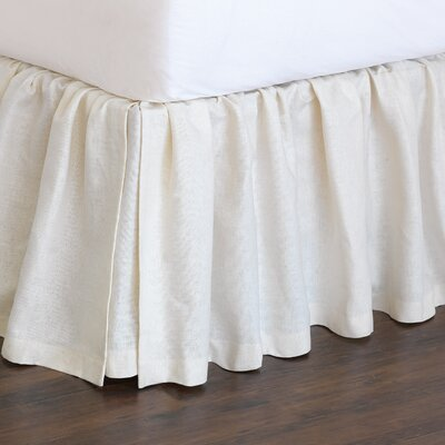 Magnolia Bed Skirt Size: Queen