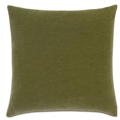Bach Wool Throw Pillow Color: Apple - Green
