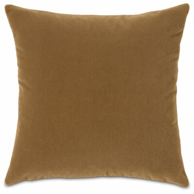 Bach Fabric Throw Pillow Color: Monarch Gold