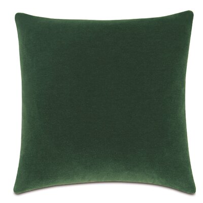 Bach Fabric Throw Pillow Color: Emerald