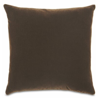 Bach Fabric Throw Pillow Color: Chocolate