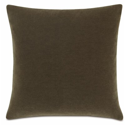 Bach Fabric Throw Pillow Color: Truffle