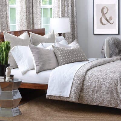 Amara Comforter Size: King, Finish Type: Hand-Tacked