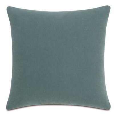 Bach Fabric Throw Pillow Color: Seafoam