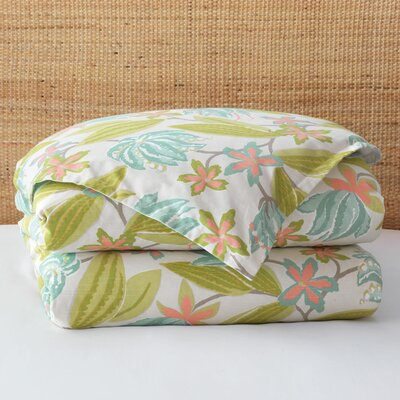 Lavinia Paradise Comforter Size: King, Finish Type: Hand-Tacked