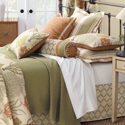 Caicos Duvet Cover Size: Queen