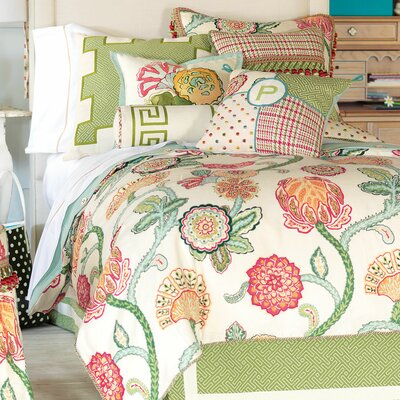Portia Polyester Comforter Size: California King, Finish Type: Button-Tufted