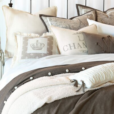 Daphne Polyester Flint Comforter Size: Super Queen, Finish Type: Button-Tufted