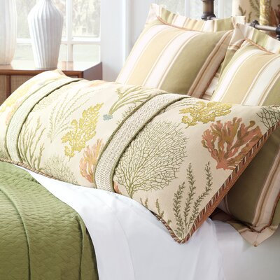 Caicos Polyester Comforter Size: Queen, Finish Type: Button-Tufted